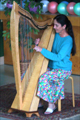 Student harp recital, San Francisco Bay Area