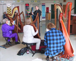 Harp lessons - special group master class, San Jose